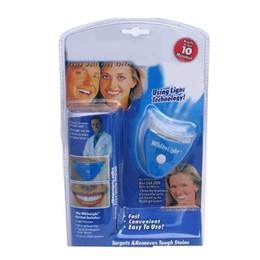 Wholesale Dental White Gel - Dental Tooth Whitening Gel Teeth Cleaner Whitener System Whitelight Kit Set White light Women men girls Tooth Care Brightening