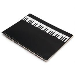 Utile Feuille de Musique Notebook Music Personnel Papier de Clavier 50 Pages ? partir de fabricateur