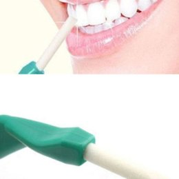 Wholesale Dental Oral Whitening Cleaning Stick - 1Set Tooth Cleaner Oral Hygiene Teeth Care Cleaning Tools Tooth Peeling Stick+25pcs Eraser Remove Stains Dental Care