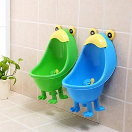 Wholesale Green Frogs - Lovely Frog Children Kids Potty Removable Toilet Training Kids Urinal Early Learning Boys Pee Trainer potty