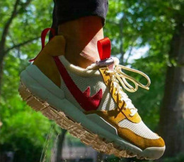 Wholesale Pu Leather Yard - Men's Casual Shoes With Box Tom Sachs x Craft Mars Yard 2.0 TS NASA Joint Limited Casual Original Quality Natural Red Maple