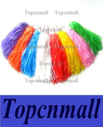 Wholesale Dance Team Wholesale - Pom Poms Cheerleading Cheer Cheerleading Supplies Square Dance Props Color Can Choose Flower Dance Cheerleading Team Handbal
