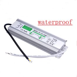 Wholesale Waterproof Led Driver Ip67 - Wholesale- Led Driver Transformer Power Supply Adapter AC110-260V to DC12V 24V 10W- 100W Waterproof Electronic outdoor IP67 for underwater