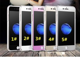 Wholesale Silicone Cover For Blackberry - New Shockproof 360° Silicone Phones Protective Clear Case Cover For iPhone 7 5s 6 6s plus Samsung Galaxy Note 7 S6 edge