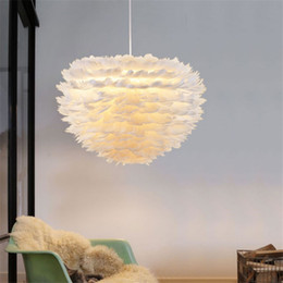 Wholesale Innovative Lights - Sunway lighting Reilly Altar Modern Pendant lamp LED candle remote chandelier Lighting Innovative feather fixture candle suspension lamp