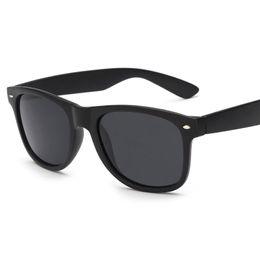 Wholesale Male Sunglass - FankGlasses Sunglasses Men Polarized Driving Sunglass Women Brand Designer Oculos Black Frame Eyewear Male UV400 Glasses F21400