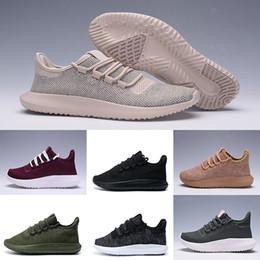 Wholesale 3d Designers Cheap - 2017 Tubular Shadow 3D Breathe Classical Men Women Black white Sneakers Shoes Cheap Breathable Casual Walking Designer Trainers Shoes 5-10