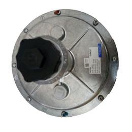 2019 químicos naranjas Regulador de gas natural de invierno FRS520, válvula reductora de presión, motor de combustión de gas DUNGS, DN50