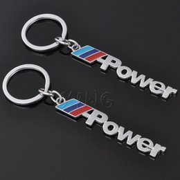 Wholesale Toyota Key Chain Rings - Car Power Logo Keychain Key Chain Keyring Key Ring For Mercedes BMW M X 1 3 5 6 Audi Ford Honda Toyota VW Dodge Jeep Car Styling