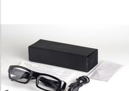 Wholesale Hd Secret Camera - Mini Camera HD Sunglasses 1080P Glass Mini Camera Recorder Secret DV Safety Bike Stealth Fashion CAR DVR