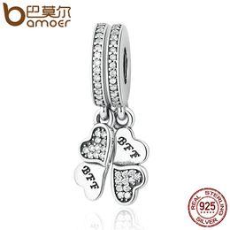 Bling Stars BFF Best Friends Forever Puzzle Dangle Charm Bead fits Pandora Bracelets Ns3oHN4