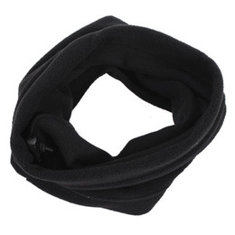 Wholesale Polar Mask - Wholesale- 3 in 1 Polyester Polar fleece Ring Scarves Neck Warmer Face Mask Hat Snood Unisex Winter Thermal Cycling Hiking Ski Snowboard