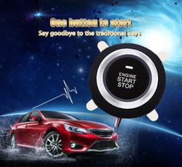 Wholesale Keyless Entry Remote Start Alarm - 9001 Car Alarm Finger Push Starter Engine Start Stop Transponder Remote Control Button Oil Detector 202576801