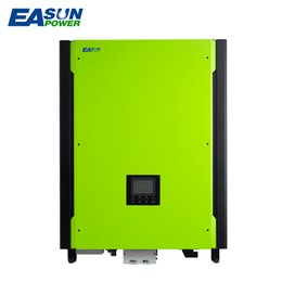 Wholesale Hot Sell Solar Inverter KW Grid tied Inverter V to V W MPPT Pure Sine Wave Hybrid Inverter A AC Charger