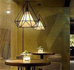 Retro Creative Iron Birdcage Chandeliers LEDFlush Mount Ceiling Light Lamps For Study Room OfficeDining 2017 New