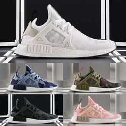 Wholesale Shadow Duck - 2017 Original NMD_XR1 PK Running Shoes Cheap Sneaker NMD XR1 Primeknit OG PK Zebra Bred Blue Shadow Noise Duck Camo Core Black Fall Olive