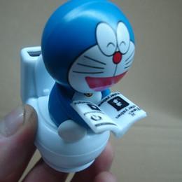 Wholesale Solar Dance - 1 pcs Funny Blue Cats Car Auto Solar Energy Toys Toilet Dancing DIY Toys Decoration(Random Sent)