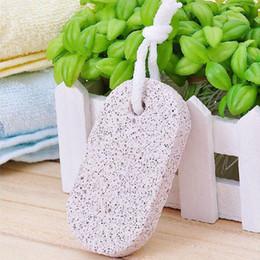 Wholesale Item Stone - New Design Pedicure Scrubber Natural Pumice Stone Lava Bathe Stone Rid Callus Body Scrubs Item Hard Dead Skin Remove ZA2459