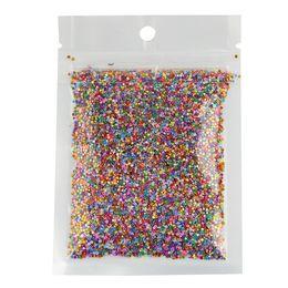 Wholesale rainbow dust - Wholesale- 10g Color Rainbow Effect Bright Nail Glitter Powder Dust Nail Women DIY Fingernail Cellphone Decoration Manicure WY12