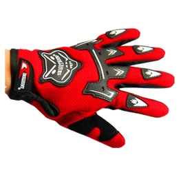 Wholesale Girls Purposes - Fox Head Spring And Autumn Season Glove Cycling Full Finger Glove Motorcycle Knight Special-purpose Glove Bicycle Glove