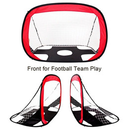 2019 aperto tático m4 Multi-função 2 em 1 crianças futebol objetivo dobre projeto de futebol gol futebol portão portátil futebol porta interior ao ar livre
