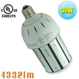 Wholesale Medium Base Led Light Bulbs - UL listed Corn LED light manufacturer indoor lighting E27 30W 110 volt bulbs light 220 volt E26 medium base