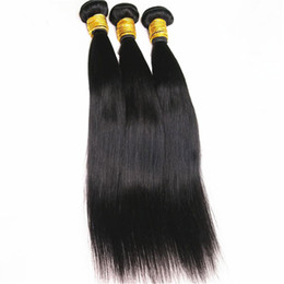 Wholesale Cheap Virgin Brazilian 3pc - Hair Products Cheap Brazilian Straight Hair 3PC Lot 10-28inch Natural Color Unprocessed Virgin Human Hair Extension