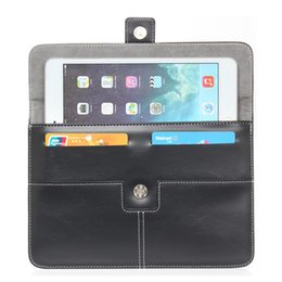 Wholesale Case Ampe - 40pcs lot Android Robot Leather Case bag Sleeve For 7inch iPad 10 inch Samsung Ainol Sanei Ampe Cube Tablet PC