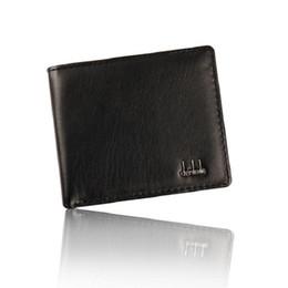 Wholesale Cool Wallet Mens - 2016 Vintage PU Mens Wallets Bifold Brown Black PU Leather Mens Wallet instock for men Cool