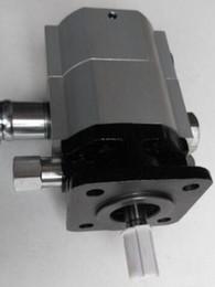 Cbt gear en Ligne-hydrauliques Pompes à engrenages Fendeuses de bûches CBT-8.8 / 3.6 Vannes de 11 GPM pour machines-outils de coupe de bois de chauffage