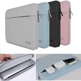 Wholesale Notebook Apple Macbook Pro - Notebook Bag Case For Lenovo Dell HP Asus Acer Apple Macbook Air Pro Retina 11 12 13 Xiaomi surface pro 3 4 Laptop Sleeve 15.6