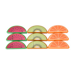 Wholesale Deco Fruits - Wholesale- 3 pcs Lot Fruit deco correction tape Mini correcting tapes correttore nastro stationery Office accessories School supplies 6815