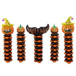 many kinds helloween foil balloon halloween party decorations air balls inflatable helium balloon birthday balloons kids festival toys uk