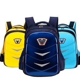 Wholesale Cartoon Boy Girl Hard - Primary school students, grade 1-3-6 waterproof, ridge protection burden, boys and girls, large capacity cartoon hard shell, shoulder bag