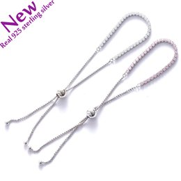 Wholesale Bracelet Imitation Jewellery - 2017 NEW for women fit pandora bracelets 925 silver authentic size adjustable AAA Cubic zirconia Popular European women Jewellery