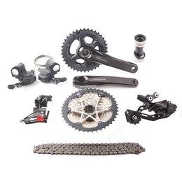 Wholesale Groupset Mountain - 2017 NEW!! shimano DEORE m6000 2x10s 3x10s Speed 11-42T MTB Mountain Bike Kit Bicycle Groupset