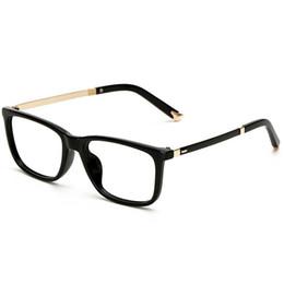 Wholesale Eyeglasses Khaki - Eyeglass Frames Glasses Frame Eye Frames For Women Men Clear Glasses Womens Optical Clear Lenses Mens Vintage Spectacle Ladies Frames 2C2J03