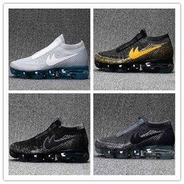 Wholesale New Nude Women - 2018 New Arrival Men VaporMaxes Shock Racer Running Shoes For Top quality Fashion Casual Vapor Maxes Sports Sneakers Trainers