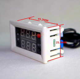 Wholesale Thermostat Temperature Switch 12v - Wholesale- DC 12V Digital LED Temperature Controller 10A Thermostat Control Switch +Probe