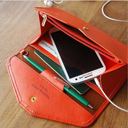 Wholesale Envelope Women - 2017 Luxury brands designer High-capacity Wallet Ladies long mobile phone bag Envelope wallet Multifunctional passport bag