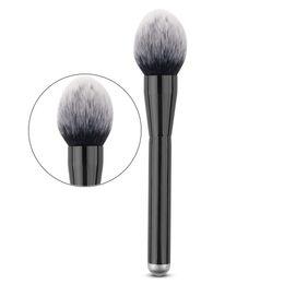 Mix de ferramentas profissionais on-line-Forma de chama Grande Rodada Macia Fibra Pincel de Maquiagem Fundação Pó Blush Sombra Contour Mistura Cosmética Mistura Pro Ferramenta de Beleza