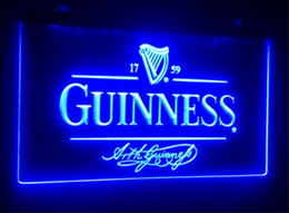 Guinness néon barra de luz on-line-B91 Guinness Alec Arth cerveja bar pub club sinais 3d levou sinal de luz de néon home decor artesanato