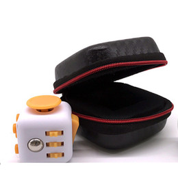 Wholesale Case Epacket - Fidget cube Box the world's first American decompression anxiety Box case only good quality epacket 0601304