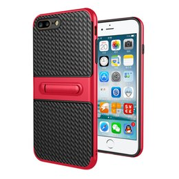 Wholesale Iphone Offers - 2017 Sale Special Offer TPU PC Traveler bracket Armor Case for Samsung Note4 5 S6 S7 edge J7-2016 Phone 2In1 Contrast Back Cover