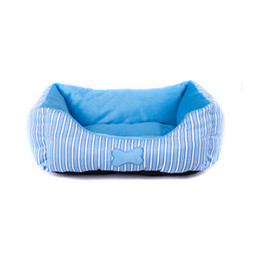 Wholesale Nesting Sofa - CUTE S L 48cm  60cm Blue Pet Dog Bed kennel Sofa Puppy Cat Soft Warm Cozy Nest Bed House Plush Pad Cotton Mat