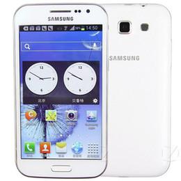 Wholesale Cell Phone 1gb Ram Original - Refurbished Original Samsung Galaxy Win i8552 Dual SIM 4.7 inch Quad Core 1GB RAM 4GB ROM 3G WIFI GPS Unlocked Mobile Cell Phone Free Post