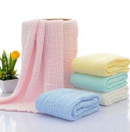 Wholesale Cotton Gauze Wrap - 6 Layers Gauze Towel Kids Absorbent Bathing Towels Children Cotton Wrap Baby Towel Robe Children Cotton Wrap KKA1908
