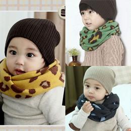 Wholesale Baby Girl Leopard Scarf - Wholesale- 1-8Y Winter Warm Girl Boy Baby Kids Scarf Neckerchief Leopard Printed Scarves New