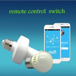 2019 supporto della lampada senza fili All'ingrosso-Sonoff E27 Slampher RF WiFi 433 MHz Wireless Smart Light Portalampada Telecomando Smart Home via IOS Andorid sconti supporto della lampada senza fili