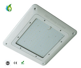 Wholesale Ac Design - UL DLC New Design AC100-277V LED Canopy Lights for Gas Station 20mm Slim LED Gas Station Light